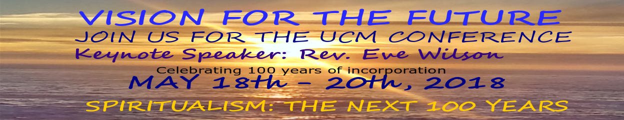 UCM Annual Meeting banner
